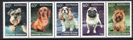 AUSTRALIA, 2013 DOGS STRIP 5 MNH - 2010-... Elizabeth II