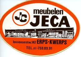 Sticker Autocollant Meubelen JECA Erps-Kwerps - Autocollants