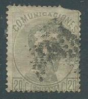 Timbre Espagne Roi King Amadeo 20 Peseta 1872 - 1872-73 Regno: Amedeo I