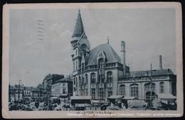 Liège La Poste Et Marché Market Markt - Marchés