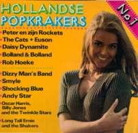 * LP * Hollandse Popkrakers No.1 (Nederpop/Dutchbeat  Clubpressing) - Hit-Compilations