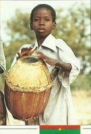 (AFRIQUE   )(BURKINA FASO   )PETIT JOUEUR DE TAM TAM - Burkina Faso