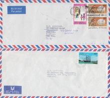 Postal History: Grenadines Of St Vincent 4 Covers - St.Vincent & Grenadines