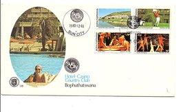 BOTSWANA FDC 1980 TOURISME - SUN CITY - Botswana (1966-...)