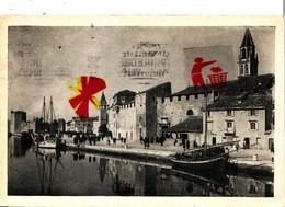 TROGIR - OBALA - (Ex Yugoslavie) - Circulée En 1922 - Croatie