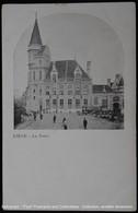 Liège La Poste Luik Postkantoor Tramway - Poste & Facteurs