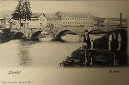 Stavelot // Le Pont (animee) Ca 1900 - Stavelot