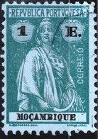 MOZAMBICO, MOZAMBIQUE, PORTUGUESE COLONY, CERES, 1913, 1 E., USATO Mi. 168xC,  Scott 191X, YT 170(A) - Mozambique