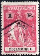 MOZAMBICO, MOZAMBIQUE, PORTUGUESE COLONY, CERES, 1922, 1 E., USATO Mi. 254A,  Scott 181, YT 248(A) - Mozambique