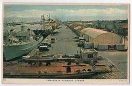 CYPRUS CHYPRE FAMAGUSTA Harbour Boats Raphael Tuck Postcard - Cyprus