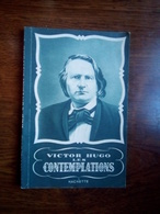 Victor Hugo: Les Contemplations/ Hachette, 1956 - French Authors