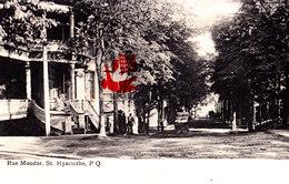 Rue Mondor, St HYACINTHE, P. Q. - CANADA - QUEBEC - St. Hyacinthe