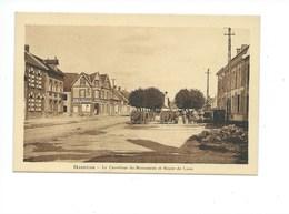 02 Sissonne AISNE Le Carrefour Du Monument Et Route De Laon Le Familistère 2 Scans TB Jannot Tabac - Sissonne