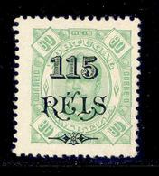 ! ! Zambezia - 1903 D. Carlos 115 R - Af. 35 - MH - Zambezia