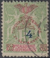 Nouvelle Calédonie 1903-1909 - N° 84 (YT) N° 78 (AM) Oblitéré. - Nouvelle-Calédonie