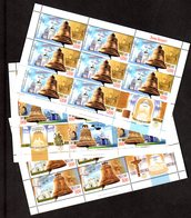Weißrussland Kl. Mi.-Nr 682-84 Glocken, Postfrisch - Belarus