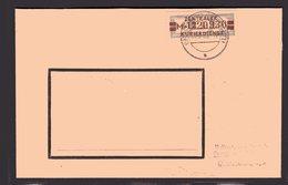 ZKD-Brief  EF. Mi.-Nr. 21 M II - [6] République Démocratique