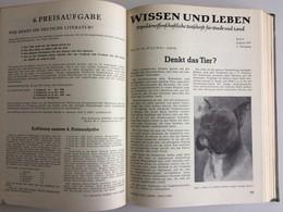 WISSEN UND LEBEN 1957 KOMPLETTER JAHRGANG GEBUNDEN - Ohne Zuordnung