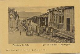Santiago De Cuba  Marina Street Cuba Submarine Cables Agency Cable Sous Marin - Cuba