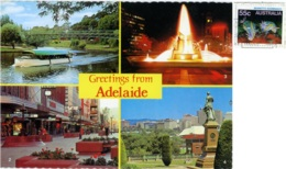 AUSTRALIA  ADELAIDE  Greetings From..  Multiview  Nice Stamp - Adelaide