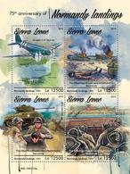 SIERRA LEONE 2019 - World War 2: Normandy. Official Issue. - WW2