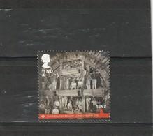 Grande Bretagne Oblitéré 2013  N° 3790  Construction D'un Tunnel De Métro - Used Stamps