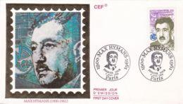 CEF - Max Hymans - FDC