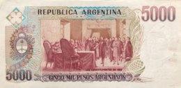 Argentina 5.000 Pesos Argentinos, P-318a - AUNC - Argentine