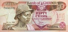 Ghana 50 Cedis, P-25 (15.7.1986) - UNC - Ghana