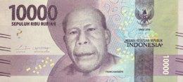 Indonesia 10.000 Rupiah, P-157 (2016) - UNC - Indonesia