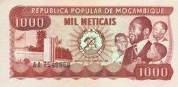 Mocambique 1.000 Meticais, P-128 (16.6.1980) - UNC - Moçambique