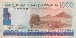 Rwanda 1.000 Francs, P-27b (1.12.1998) - UNC - Ruanda