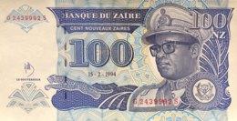 Zaire 100 Nouveaux Zaires, P-60 (15.2.1994) - UNC - Zaire