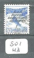 SUI YT S111  SBK BIT45y En Obl - Servizio