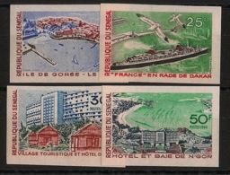 Sénégal - 1966 - N°Yv. 284 à 287 - Tourisme - Non Dentelé / Imperf. - Neuf Luxe ** / MNH / Postfrisch - Senegal (1960-...)