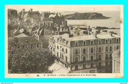A754 / 007 35 - SAINT MALO Hotel Chateaubriand Et Le Grand Bey - Saint Malo