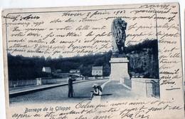 Barrage De La Gileppe Envoyée 1903 Tilbourg Holland  Jalhay Baelen Gileppestuwdam - Jalhay