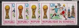 Sénégal - 1974 - N°Yv. 401 à 404 - Football World Cup - Neuf Luxe ** / MNH / Postfrisch - Coppa Del Mondo