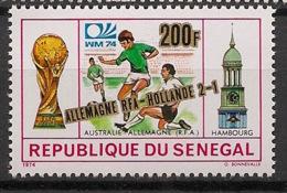Sénégal - 1974 - N°Yv. 407 - Football World Cup - Neuf Luxe ** / MNH / Postfrisch - Coppa Del Mondo