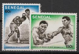 Sénégal - 1977 - N°Yv. 454 à 455 - Mohamed Ali - Neuf Luxe ** / MNH / Postfrisch - Celebrità