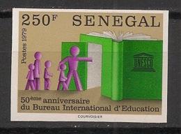 Sénégal - 1979 - N°Yv. 519 - BIE - Non Dentelé / Imperf. - Neuf Luxe ** / MNH / Postfrisch - Senegal (1960-...)