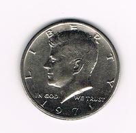//  U.S.A.  KENNEDY  1/2 DOLLAR  1971 - 1964-…: Kennedy