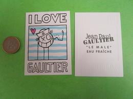 GAULTIER Jean Paul -  Carte Parfumée - Perfume Cards