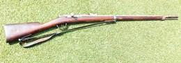 Fusil CHASSEPOT 1870 En Bon état Et Complet - Armes Neutralisées