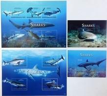 # St.Vincent 2015**Mi.7569-80 Sharks , MNH [18;73-74] - Peces
