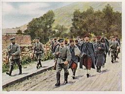 Sammelbild Eckstein-Halpaus Dresden - Der Weltkrieg (1914) - Gefangene Aus Montmédy - Nr. 18 (40791) - Zigaretten