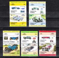 Tuvalu Nukufetau - Auto: Berline E Sportive. Cars: Sedans And Sports..Ford GT,Morris,Austin,Bugatt, Lancia. MNH - Automobili