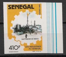 Sénégal - 1988 - N°Yv. 775 - Industries / Factories - Non Dentelé / Imperf. - Neuf Luxe ** / MNH / Postfrisch - Usines & Industries