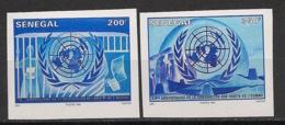 Sénégal - 1998 - N°Yv. 1285AF à 1285AG - ONU / UNO - Non Dentelé / Imperf. - Neuf Luxe ** / MNH / Postfrisch - Senegal (1960-...)