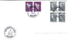 12980 MAYOTTE - BRANDELE APC - 19/11/2012 - Affranchissement MIXTE - Mayotte (1892-2011)